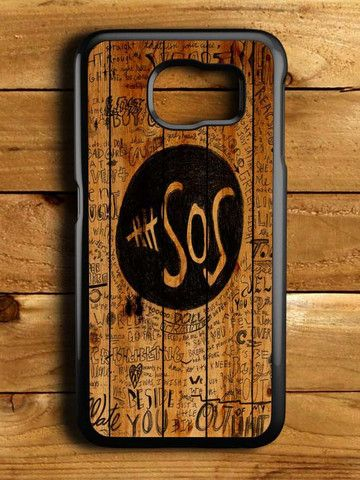 5sos Fans On Wood Samsung Galaxy S6 Case