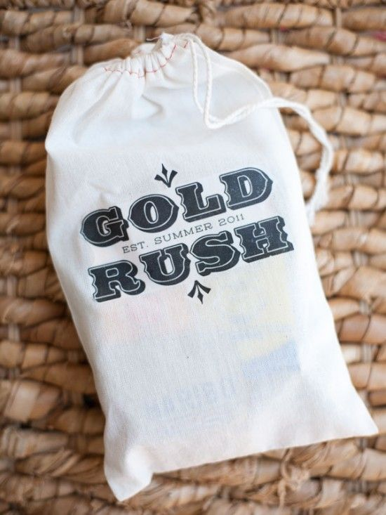 Gold Rush kid party activity