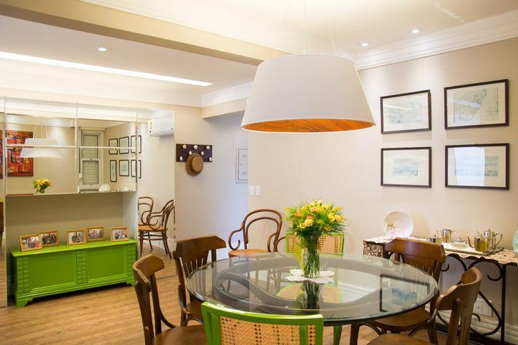 Aparador Gris Ikea ~ Sala de Jantar com mesa redonda e aparador verde Dining Room Sala de Jantar Pinterest