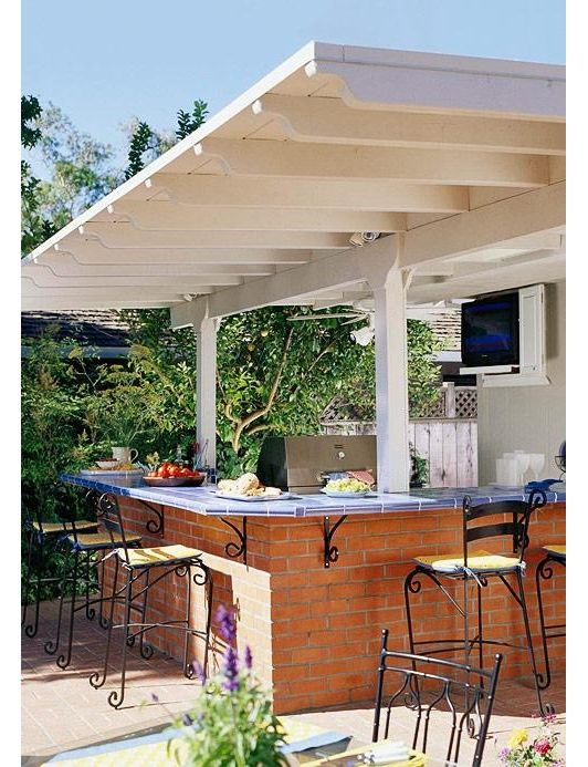 Outdoor Bar And Kitchen Pictures
