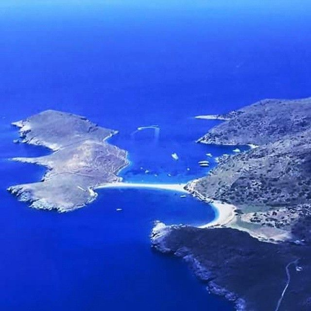 Kolona Bay in #Kythnos Island #Cyclades #Greece