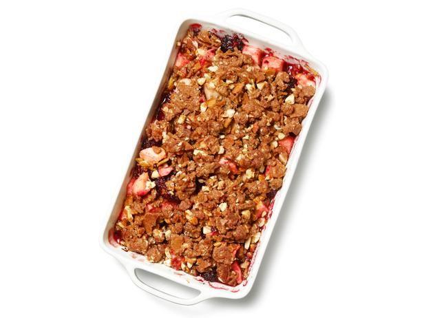 Apple-Berry Brown Betty from Food Network Magazine #Fruit #Seasonal #MyPlate