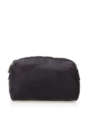 32% OFF co-lab by Christopher Kon Women's Large Nylon Cosmetic Bag, Black