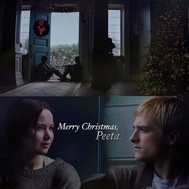 ; merry christmas everyone! i hope you all had a great, warm holiday with your family💙💙 mine however, is currently in a pickle because we bought my dad the amazon echo and then my uncle got him the google assistant without us knowing so we aren't sure yet which we will keep. if you have either and would care to suggest, please do!😂   #hungergames #everlark #peeta #katniss #mockingjay #mockingjaypart2 #thg #thehungergames #christmas #merrychristmas