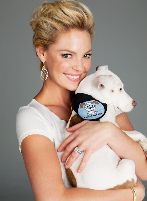 Modern Dog cover girl and rescue proponent Katherine Heigl walks the talk. She's the real deal.