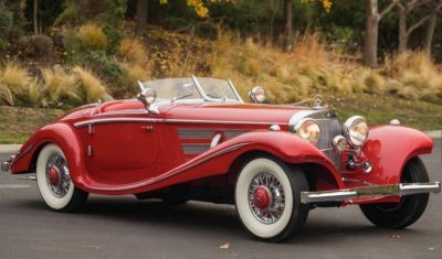 Mercedes-Benz 540 K Special Roadster by drive.gr
