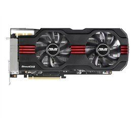 Asus Video Card GTX680-DC2T-2GD5 GeForce GTX680 2GB DDR5 256Bit PCI Express D-DVI/HDMI/DisplayPort Retail by Asus. $628.94. Graphics EngineNVIDIA GeForce GTX 680Bus StandardPCI Express 3.0Video MemoryGDDR5 2GBEngine ClockGPU Boost Clock : 1201 MHzGPU Base Clock : 1137 MHzCUDA Core1536 Memory Clock6008 MHz ( 1502 MHz GDDR5 )Memory Interface256-bitResolutionDVI Max Resolution : 2560x1600InterfaceDVI Output : Yes x 1 (DVI-I), Yes x 1 (DVI-D)HDMI Output : Yes x 1Display Port : Y...