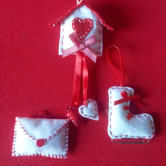 Ornamenti di Natale ornamenti di Natale di LaTanaDiOtto su Etsy
