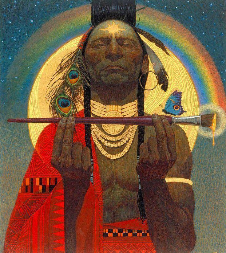 25 melhores ideias de caboclos no pinterest indianos - Fogli da colorare nativo americano ...