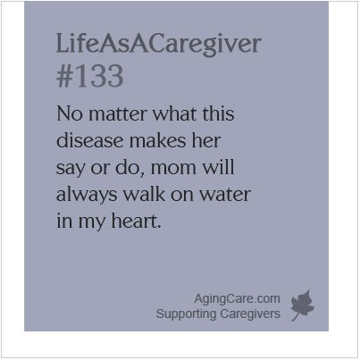 """All you can do for someone with dementia is love them as they are. Don't become resentful-be grateful for the time you have. """"Mom Has Dementia and Is Telling Lies About Me"""" http://www.agingcare.com/144204  #LifeAsACaregiver"""