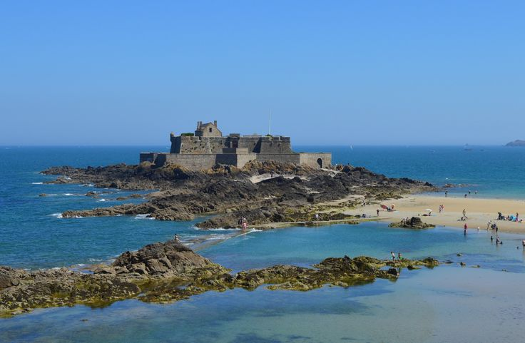 Fortress - Saint-Malo (35), France