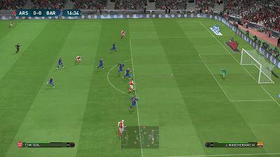 Cheat dan Trik Cara Bermain Game PES 2017