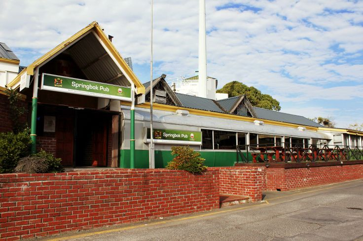 Springbok Pub - a popular local hang-out,in the Southern suburbs, especially before and after rugby games