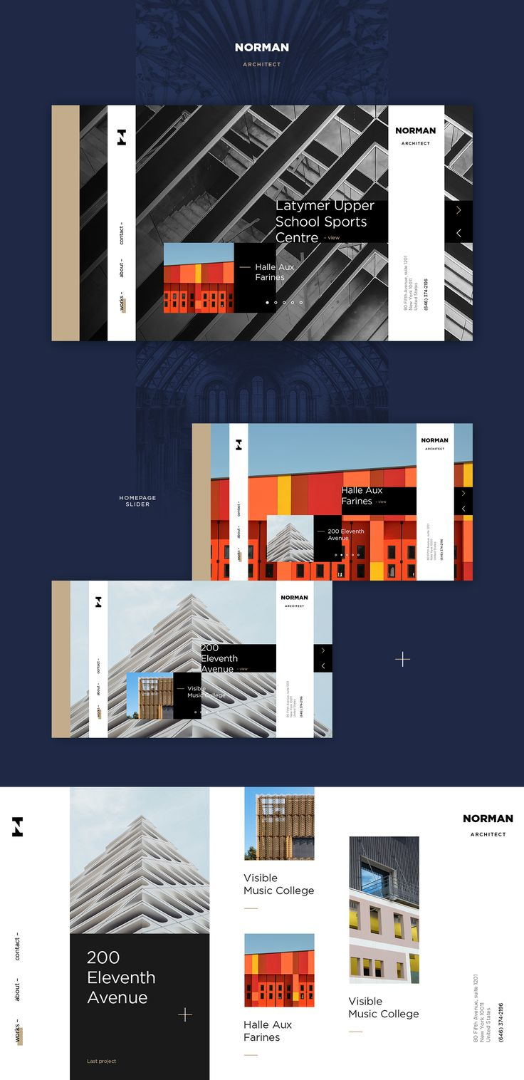 Norman Architect on Behance