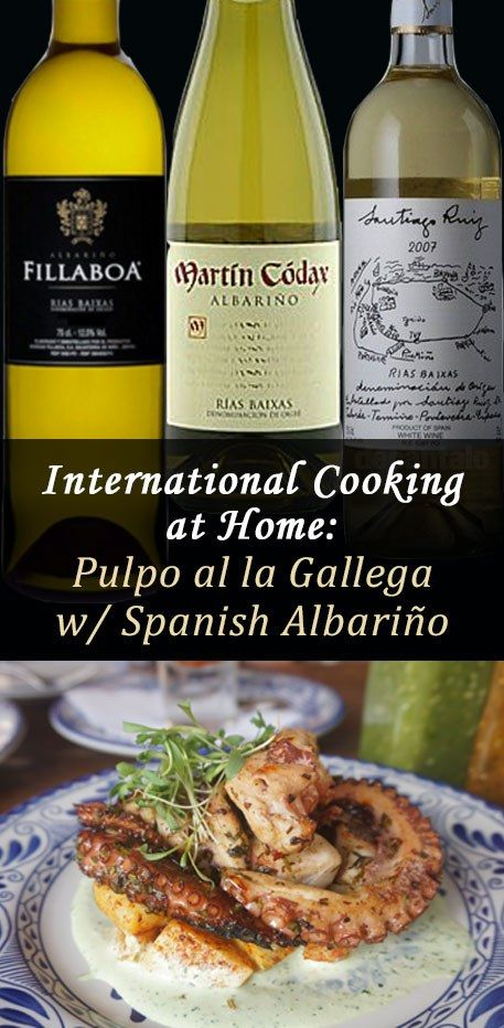 International Cooking at Home: Learn how to make delicious, tender Pulpo a la Gallega (octopus) at home
