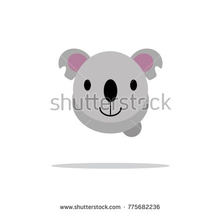 koala cute head animal character    https://www.shutterstock.com/image-vector/koala-cute-head-animal-character-775682236?src=Rjy3tJgRsqDE8WfoFhyTPA-1-9