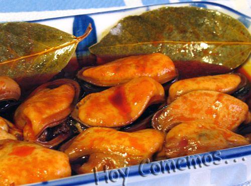 Mejillones en escabeche | Hoy comemos