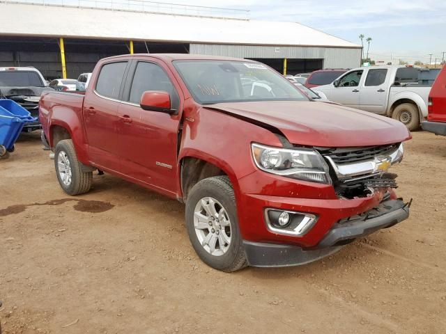 Salvage 2017 Chevrolet Colorado Lt Pickup For Sale Salvage Title