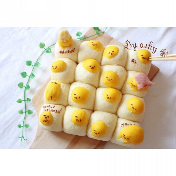 3Dちぎりパン♡