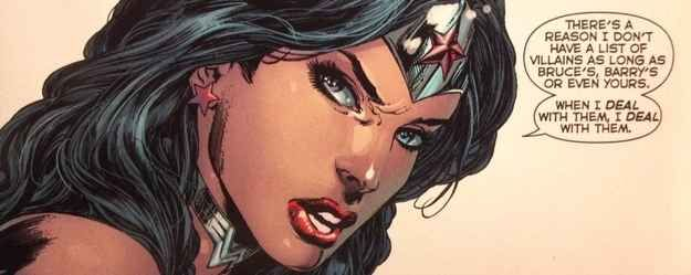 Wonder Woman is so over the catch-and-release villain program.