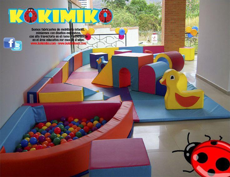 Gimnasios para ni os gym for kids pinterest para - Decoracion de gimnasios ...