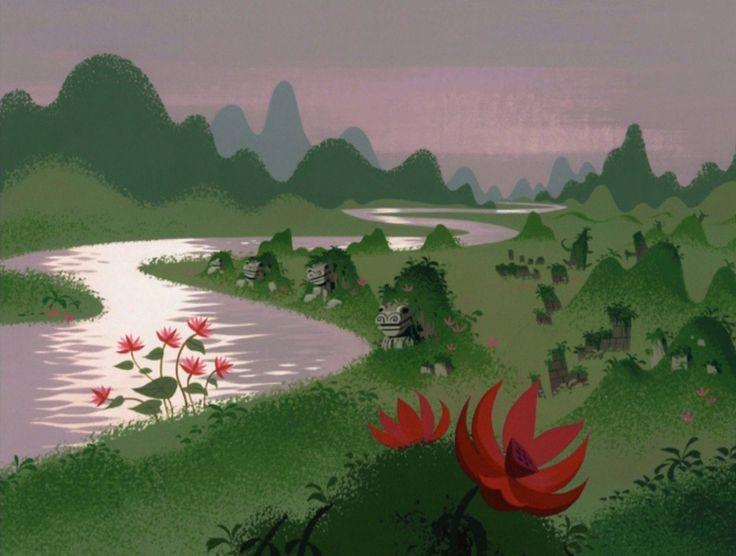The lovely environments of Genndy Tartakovsky - Samurai Jack