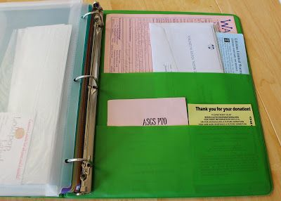 craft whatever: Organizing Paper Clutter. I Made a Binder.