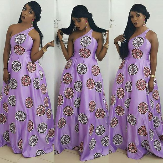 Check Out This Lovely Long Ankara Gown - DeZango Fashion Zone