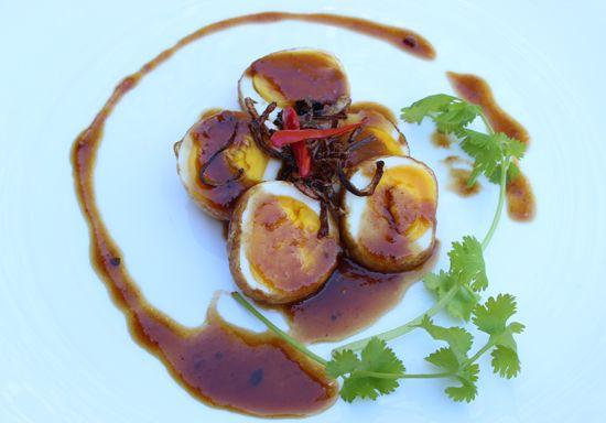 Khai Luk Koei, Kai Leuk Koey or Kai Look Koey (literally, son-in-law eggs) is a dish that commonly found at Raan Khoa Khaeng or short order...