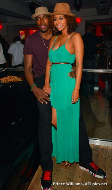 Keri Hilson Husband | Keri Hilson And Boyfriend Serge Ibaka Gets Cuddly At Night Club in ...