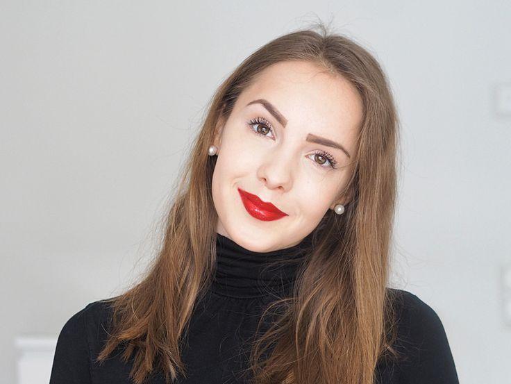 Lumene Matt Control Foundation is blogger @merenhelmi's choice for her every-day look. #foundation #lumene