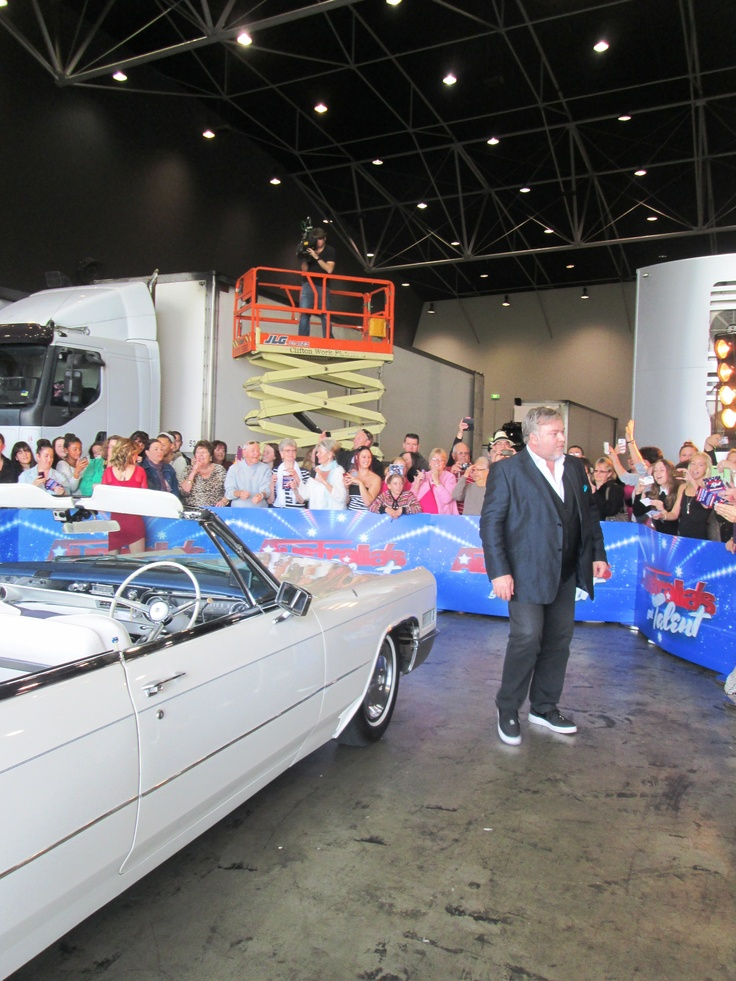 Australias got Talent judge Kyle Sandilands in Perth with the Cadillac