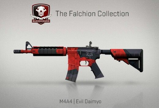 Counter-Strike Global Offensive: The Falchion Collection: M4A4 Evil Daimyo