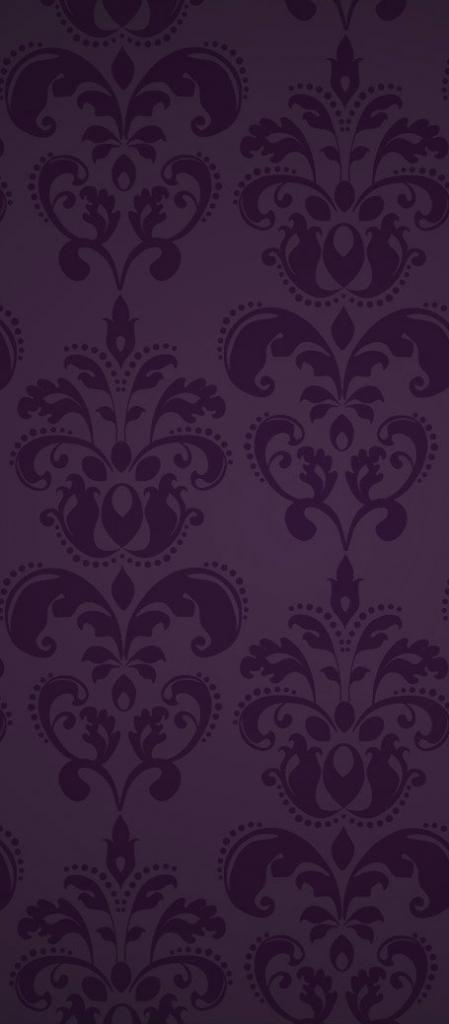 Fancy purple pattern