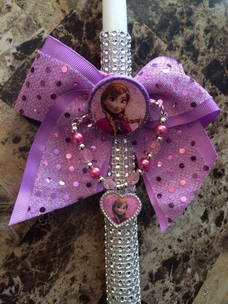 A personal favorite from my Etsy shop https://www.etsy.com/listing/224532175/frozen-anna-girls-hair-bow-elastic-and