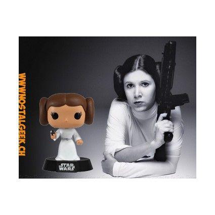 Funko Funko Pop! Star Wars Princesse Leia geek suisse shop noel