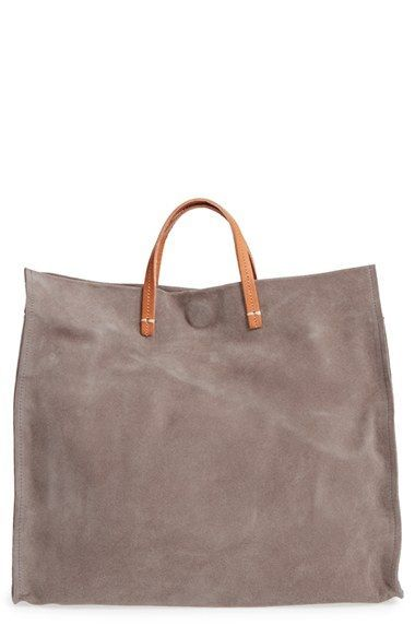 Free shipping and returns on Clare V. 'Simple' Suede Tote at Nordstrom.com. Crisp, modern minimalism characterizes a spacious everyday tote shaped from lush suede with smooth contrast trim and goldtone hardware.