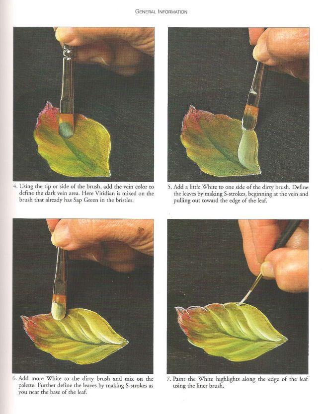One stroke-leaves