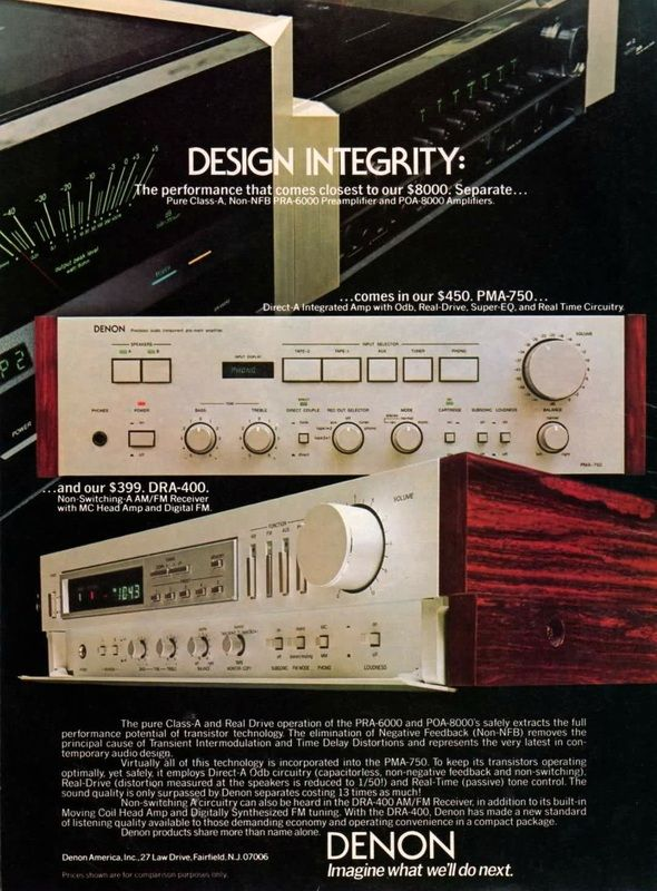DENON Design Integrity