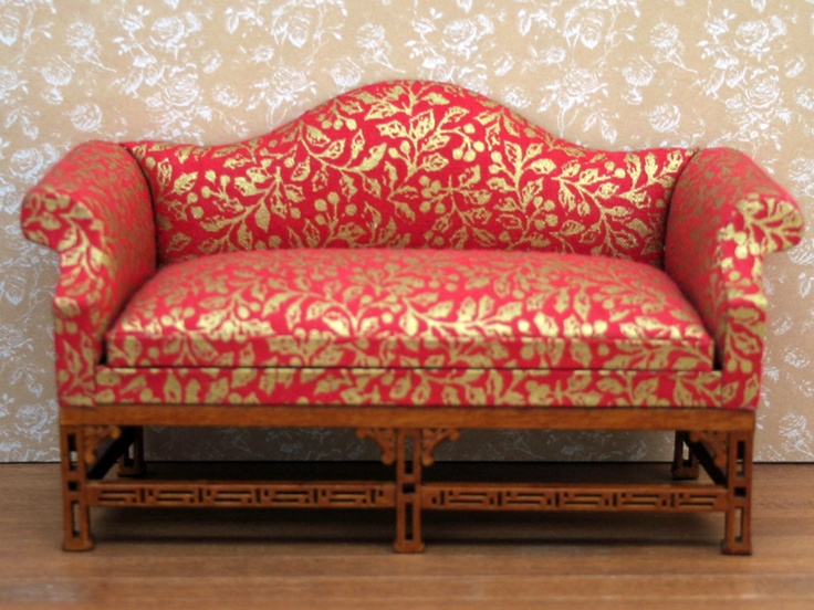 Dolls House Sofa from The Wonham Collection. R0443.