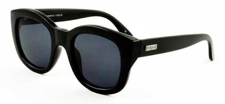 Le Specs LS Runaways-black 549 SEK #lespecs http://www.loveyewear.se/solglasogon/le-specs-ls-runaways-svart/