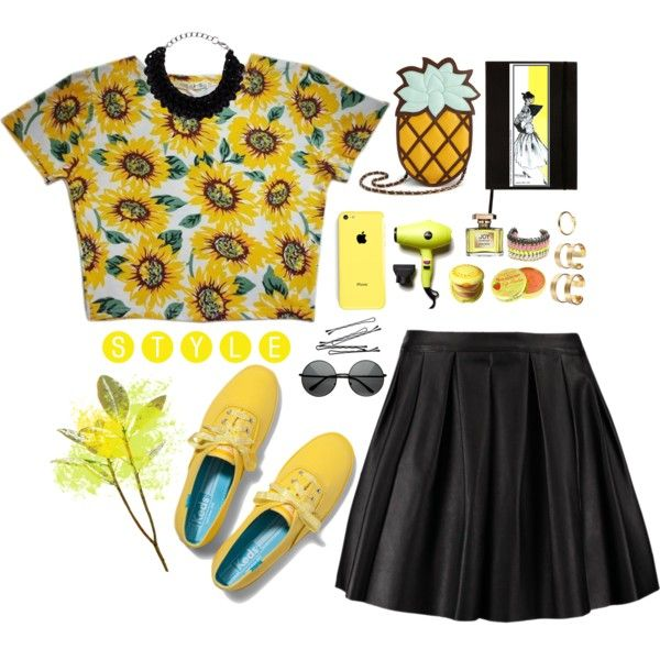 """You are my sunshine"" by dame-rohana-marbun on Polyvore"