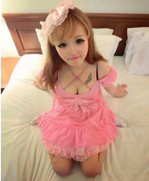 yun tang barbie humaine chinoise 8   Yun Tang barbie humaine chinoise   Yun Tang vraie relle photo image doll chine barbie