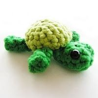 Crochet turtle: free pattern from Annemaries Breiblog