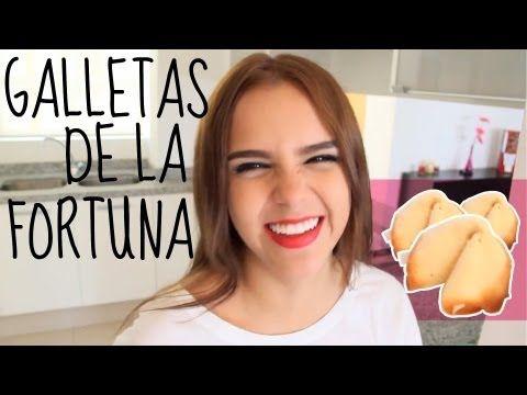¡COMO HACER GALLETAS DE LA FORTUNA! (RÁPIDO)♥ -Yuya - YouTube