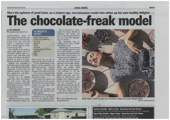 @Maureen Delaney CHOCOLATE in the Northern Star