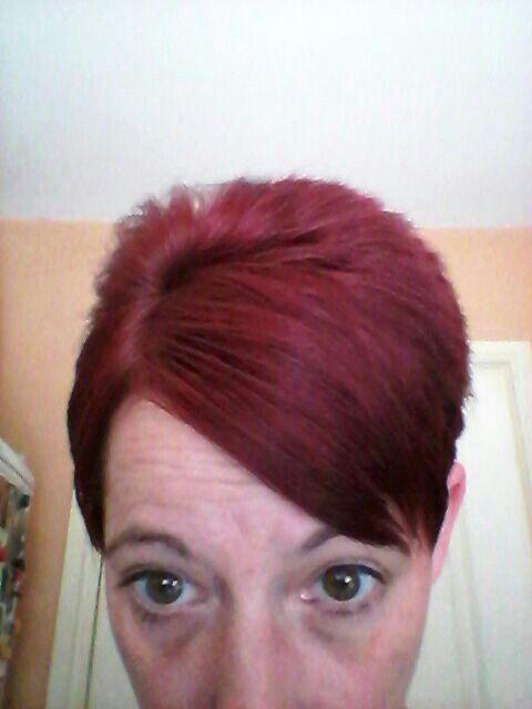 Loving my new hair colour xx