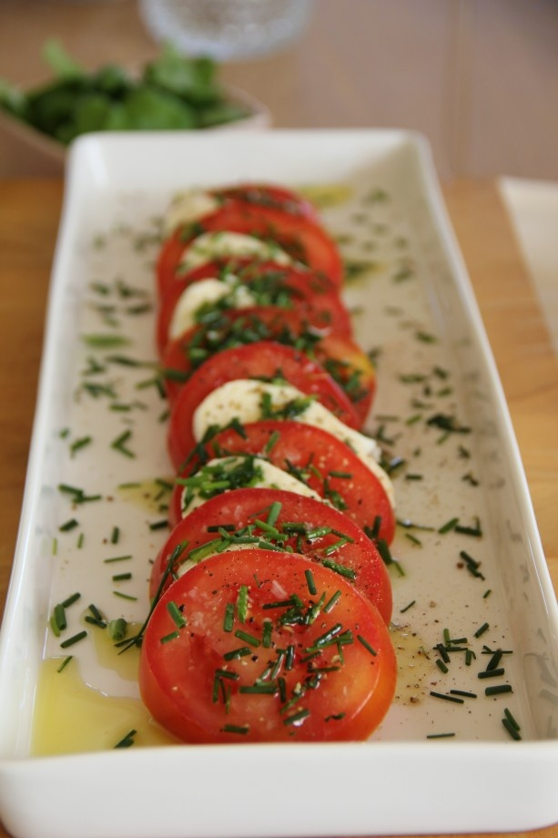 Hos mig: Italian Recipes, Food Recipes, Side Dishes, Mozzarella Caprese, Capr Yum, Summer Fun, Hos Mig, Caprese Yum, Drinks Inspiration
