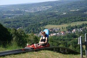 Bergstation Sommerrodelbahn