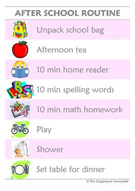 teeth cleaning chart for kids   Home › Kids Charts › Routine Charts › Afternoon Routine ...